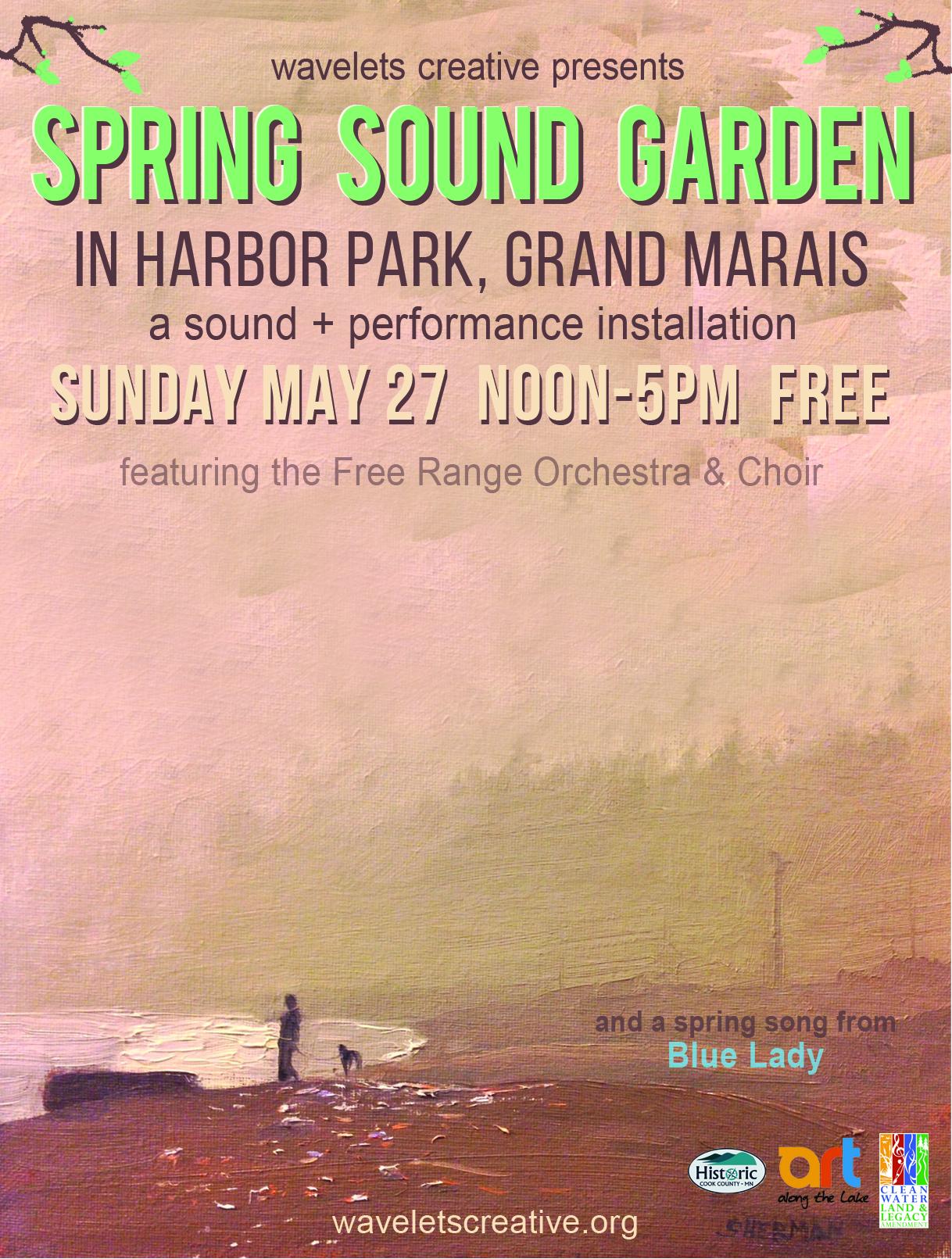 Spring Sound Garden at Harbor Park