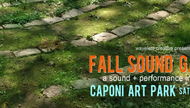 Fall Sound Garden at Caponi Art Park